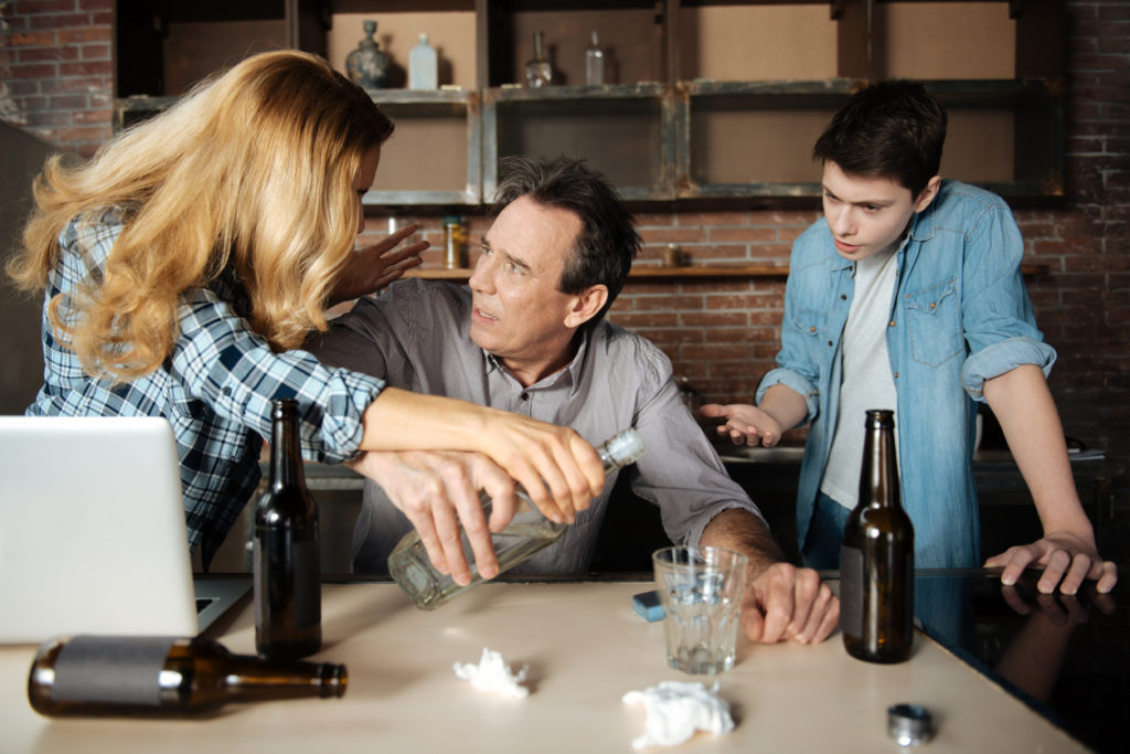 how to talk to alcoholic parent