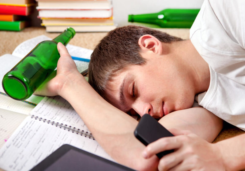 how to handle teenage drinking