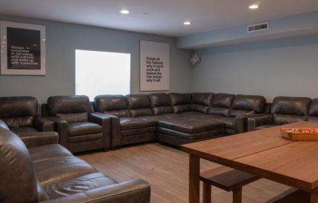 Detox Facility Living Room